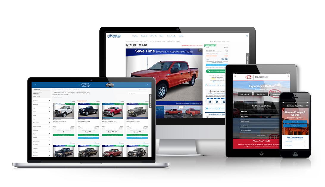 Responsive Car Dealer Websites